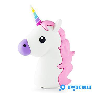 batterie portable licorne