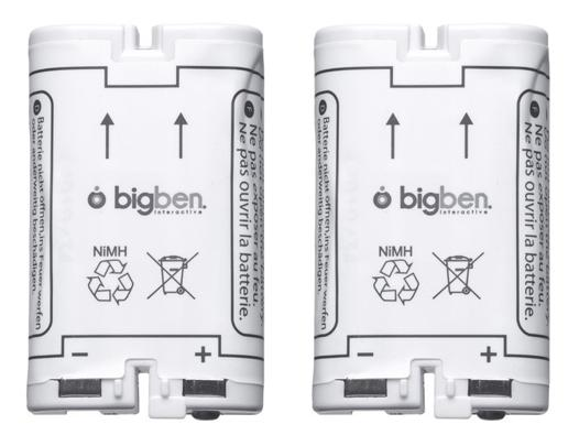 batterie rechargeable pour manette wii