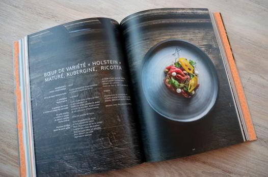 beau livre de cuisine