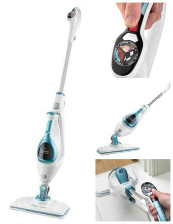 black decker steam mop