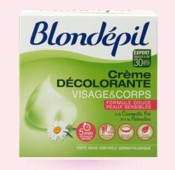 blondépil crème décolorante