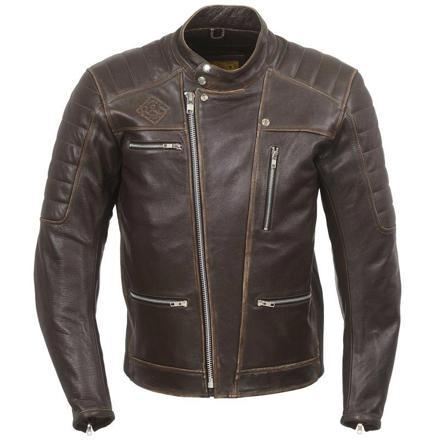 blouson moto cuir vintage