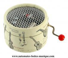 boite a musique ronde