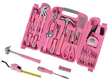 boite a outils rose