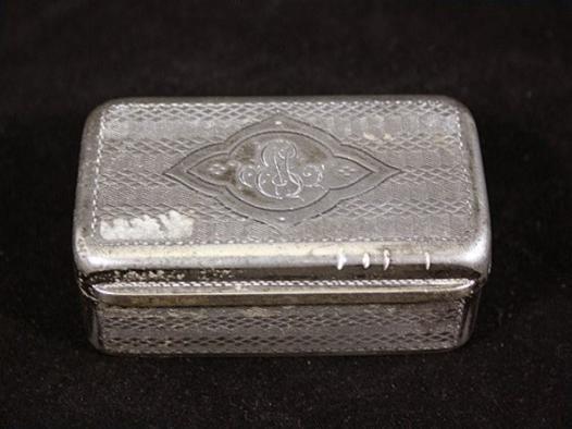 boite a tabac en metal