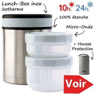 boite isotherme repas chaud longue durée