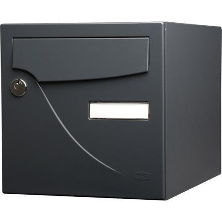 boites aux lettres gris anthracite