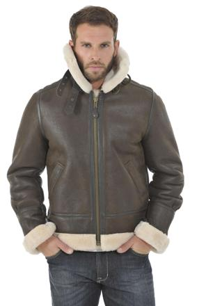 bombardier homme cuir