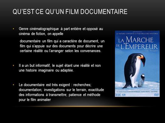bon documentaire