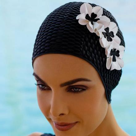 bonnet de bain femme piscine