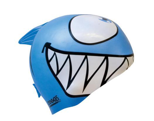 bonnet de bain requin adulte