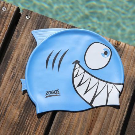 bonnet piscine requin
