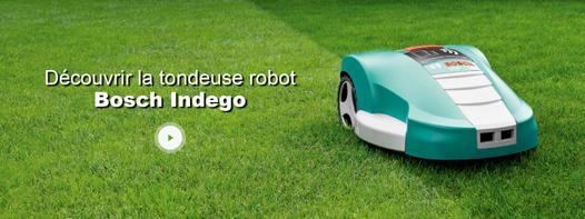 bosch tondeuse robot