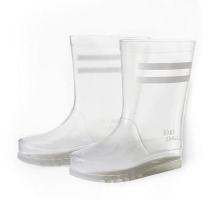 bottes de pluie transparentes