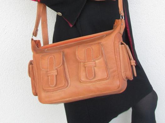 sac à main cuir naturel
