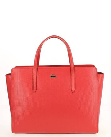sac a main lacoste rouge