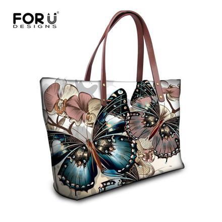 sac à main papillon