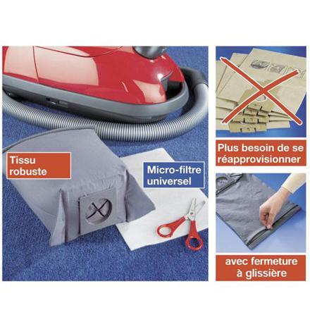 sac aspirateur réutilisable rowenta