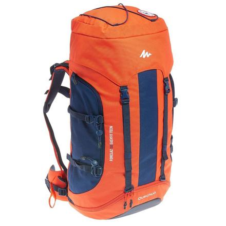 sac camping decathlon