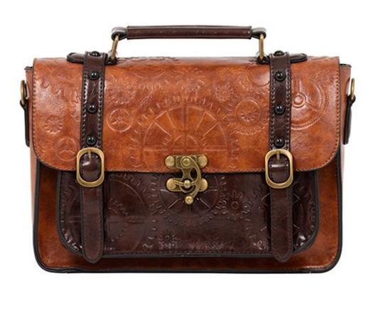 sac cuir steampunk