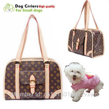sac de transport pour petit chien de luxe