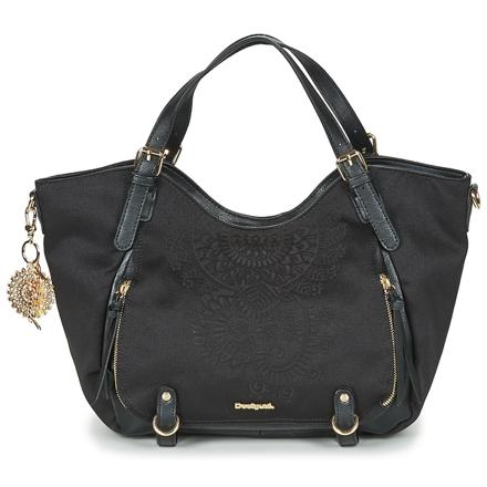 sac desigual noir cuir