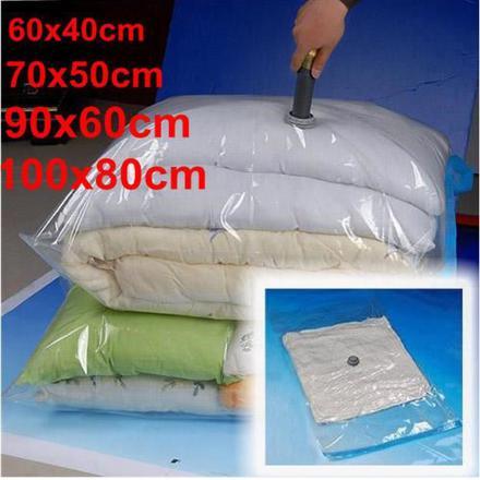 sac plastique de rangement sous vide