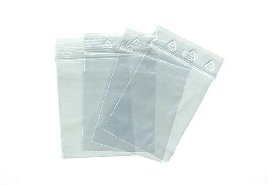 sac plastique zippé