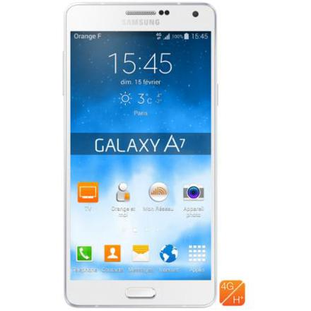 samsung a7 orange