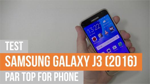 samsung galaxy j3 2016 test