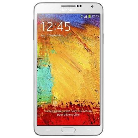 samsung galaxy note 3 blanc 4g