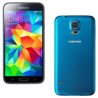 samsung galaxy s5 bleu pas cher