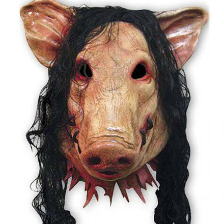 saw masque cochon