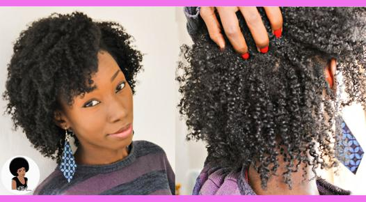 boucler cheveux crépus