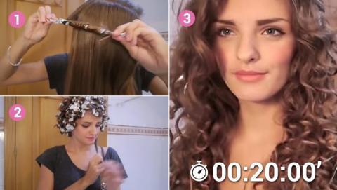 boucler les cheveux sans fer