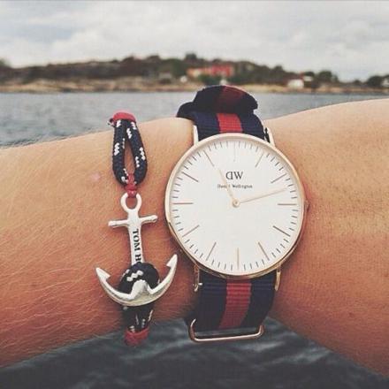bracelet ancre daniel wellington