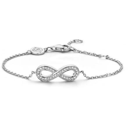 bracelet argent femme infini