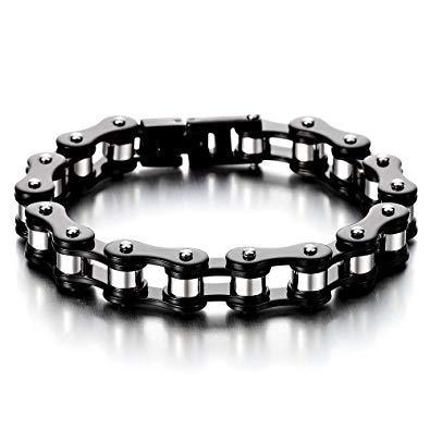 bracelet chaine moto homme