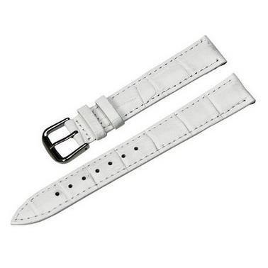 bracelet de montre blanc