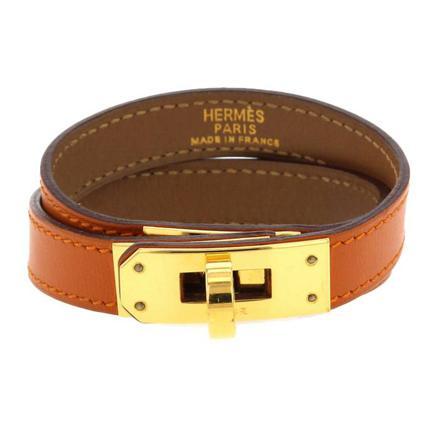bracelet en cuir hermes