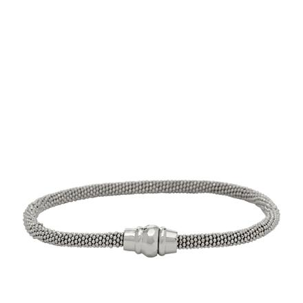bracelet fossil femme argent