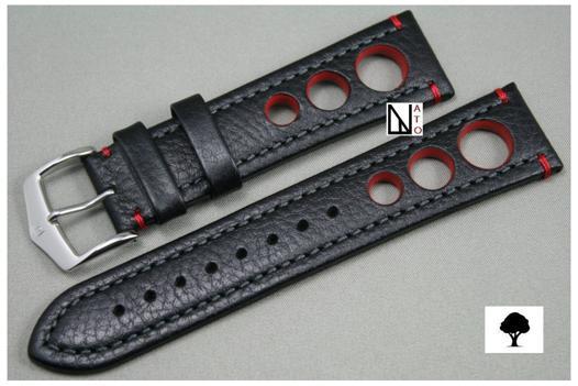 bracelet montre cuir 22mm