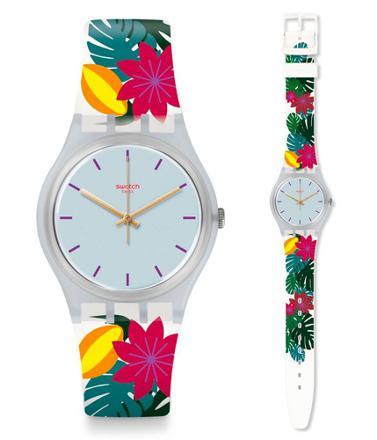 bracelet montre swatch silicone