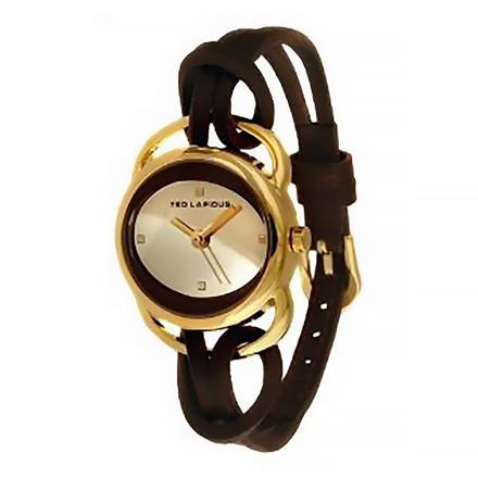 bracelet montre ted lapidus femme