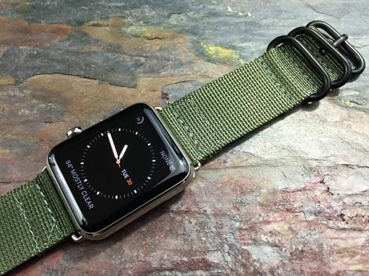 bracelet nato apple watch