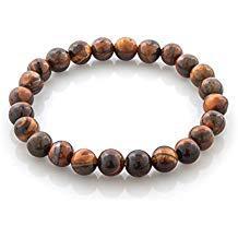 bracelet perle bois homme