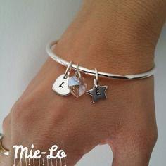 bracelet swarovski personnalisable