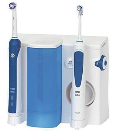 brosse a dent electrique avec jet