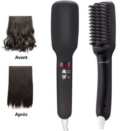 brosse lisseur cheveux