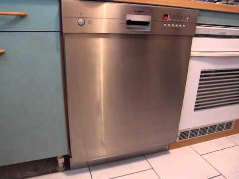 bruit lave vaisselle siemens